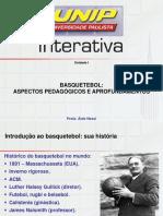 Slides de Aula - Basquete - Unip