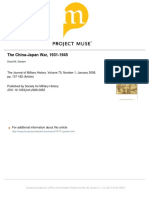 The China-Japan War, 1931 1945