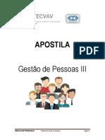 Apostila Gestao de Pessoas III Professora Bruna Di Giacomo
