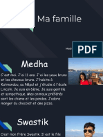 medha amatya - projet ma famille see the attached instruction