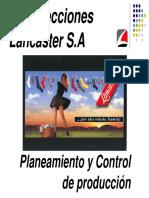 Planeamiento y Control de La Produccion en Una Empresa de Confecciones de Calcetines