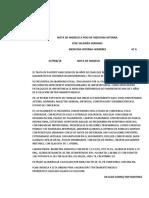 Nota de Ingreso a Piso de Medicina Intern1