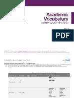 academic vocab math gr 07