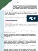 Conducción del Agua - Canales Presentación 20-04-2017.pdf