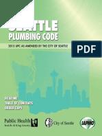 Seattle Plumbing Code