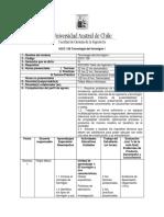IOCC126 Tecnología Del Hormigón I DB