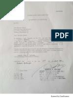 Authongaarization Letter