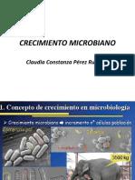 crecimiento microb