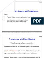 Shared Memory Systems and Programming