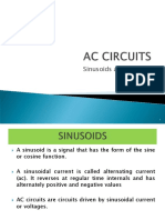7. Sinusoids and Phasors