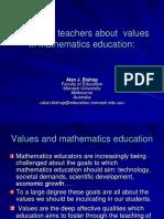 Values Talk at KL