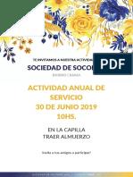 Invitaciones para la Sociedad de Socorro
