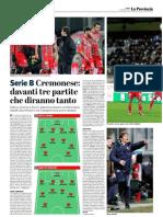 La Provincia Di Cremona 04-02-2019 - Serie B