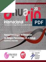 Anuario 2015 Sobre Prevencion de Riesgos Psicosociales