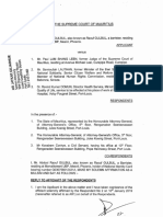 Affidavit - Mr Abdool Raouf Gulbul vs Mr Paul Lam Shang Leen & Ors