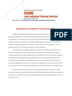 Aissms Industrial Training Institute Information Brochure