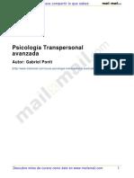 Psicologia Transpersonal Avanzada