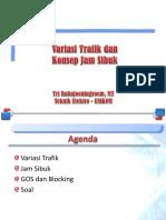 3. Variasi Trafik Dan Konsep Jam Sibuk