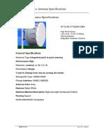 18GHz _ WTG18-177DAR-0RA Specification