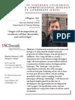 Dan Wagner Seminar 2-04-2019