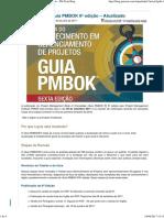[PM Tech Blog] Novidades no Guia PMBOK 6a. Edição