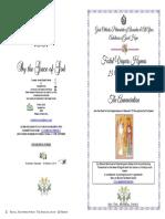 2019-24-25 Mar - Annunciation - Festal Vespers