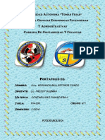 Universidad Autonoma Caratula de Conta II