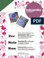 Urrian kamiseta-tailerra // Kukupraka Ludoteka