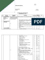Planificare Calendaristica Chimia Compusilor Cu Actiuni Fiziologice Diverse