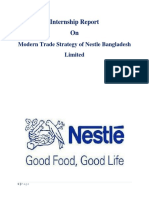 Modern Trade Strategy of Nestle Bangladesh Limited