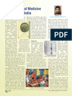 History of Medicine in India