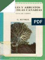 Arboles y Arbustos de Las Islas Canarias