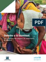 UNICEF Derecho a La Identidad