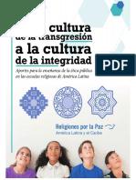 De La Cultura de La Transgresión a La Cultura de La Integridad