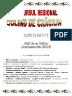 Concurs National Colind de Craciun - Site