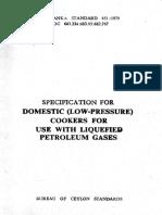 Sls 451- DomesticlLow Pressure Cookers