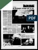 Une Ouest-France - Incendie du Parlement