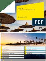 IFRS 16 Lease Accounting Workshop - EIB