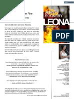 Jenny Rogneby, LEONA 4 - INTO THE FIRE