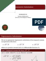 03 Trigonometric Substitution