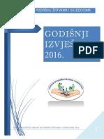 Godišnji Izvještaj Udruga Za Podršku Žrtvama i Svjedocima 2016 1 Min