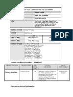 risk assessment sheets 4