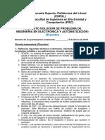 19-01-17 Preparatorio de Proyecto Final Seg Eval 2T 2018 Resolucion Problemas Auto