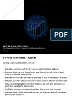 Deloitte - S4 Hana Conversion