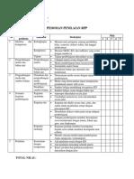 Form Penilaian RPP