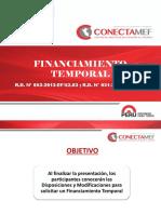 Material Endeudamiento y Tesoro Publico - Financiamiento Temporal