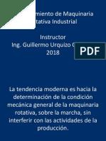 Mantenimiento de Maquinaria Industrial. Enero de 2019.
