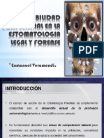 Responsabilidad Profesional en La Estomatologia Legal y Forense