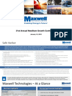 Maxwell Needham Conference Deck