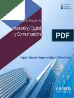 Master Direccion Marketing Comunicacion Digital
